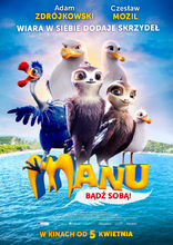 Plakat filmu Manu. bądź sobą!