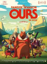 Plakat filmu Słynny najazd niedźwiedzi na Sycylię