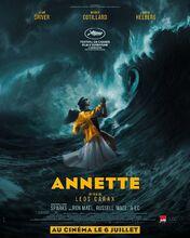 Plakat filmu Annette